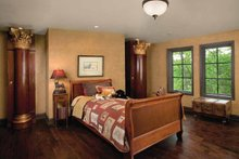House Design - Tudor Interior - Bedroom Plan #928-61