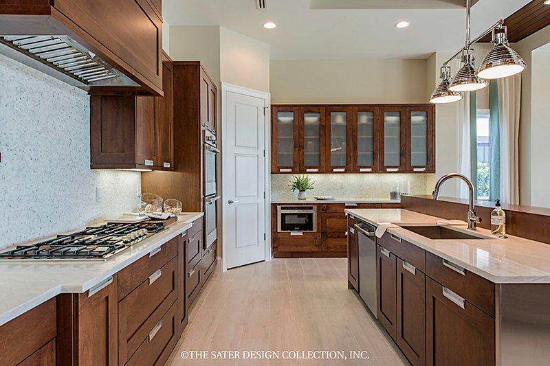 Mediterranean Interior - Kitchen Plan #930-458 - Houseplans.com