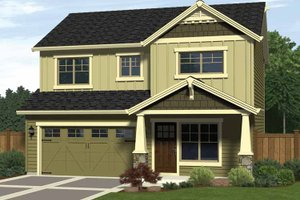 Dream House Plan - Craftsman Exterior - Front Elevation Plan #943-11