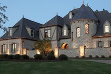 Home Plan - European Exterior - Front Elevation Plan #453-609