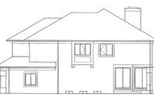 House Plan Design - Contemporary Exterior - Other Elevation Plan #72-937