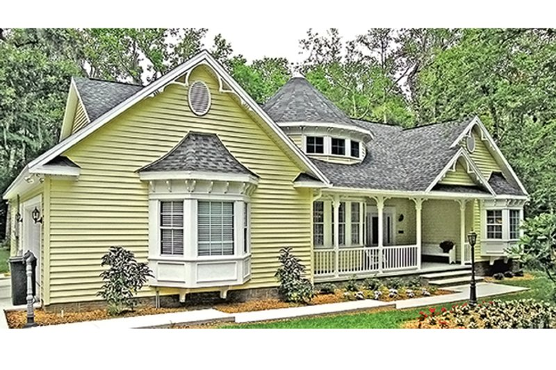 House Plan Design - Country Exterior - Front Elevation Plan #314-278