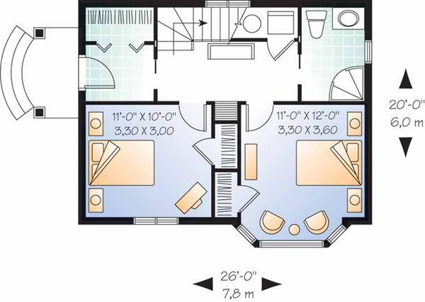 Craftsman Floor Plan - Main Floor Plan Plan #23-2458