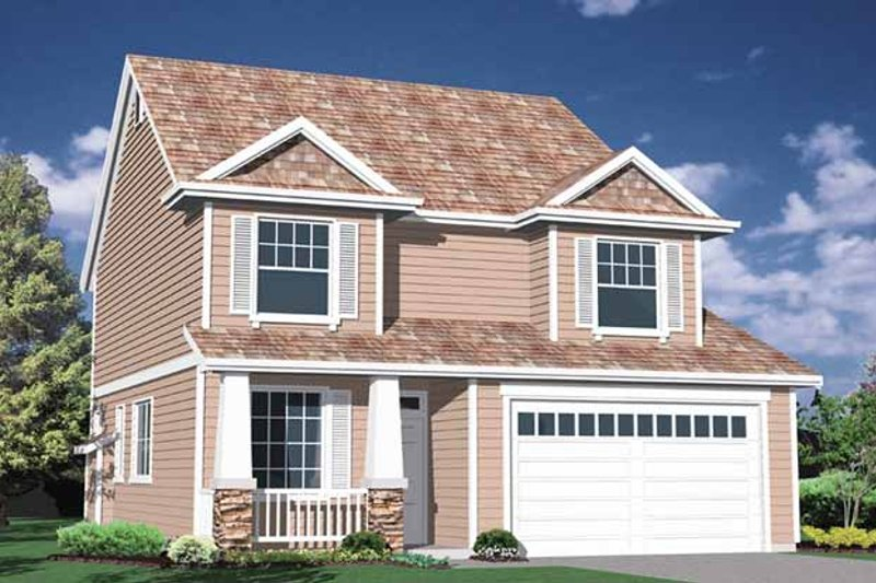 Traditional Exterior - Front Elevation Plan #509-231