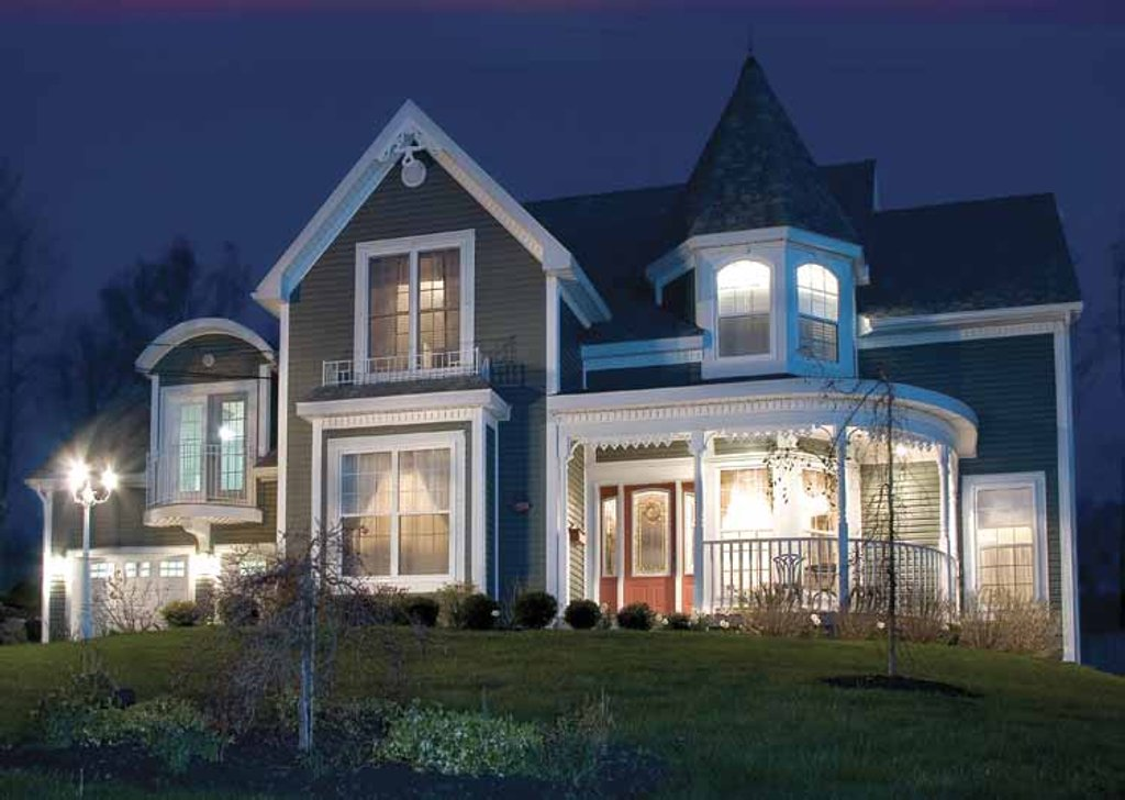 Victorian Style House Plan 3 Beds 2 5 Baths 2590 Sq Ft