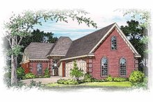 Traditional Exterior - Front Elevation Plan #15-297