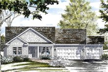 Ranch Exterior - Front Elevation Plan #316-290