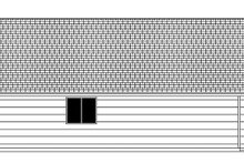 Architectural House Design - Craftsman Exterior - Other Elevation Plan #943-47