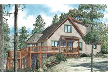Home Plan - Country Exterior - Front Elevation Plan #17-3348