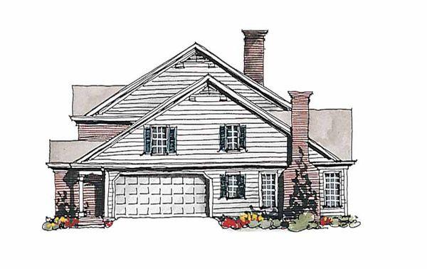 Home Plan Design - Colonial Floor Plan - Other Floor Plan #429-178