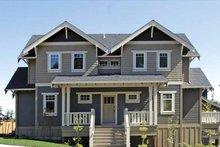 Architectural House Design - Craftsman Exterior - Front Elevation Plan #895-67