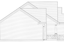 Home Plan - Craftsman Exterior - Other Elevation Plan #46-840