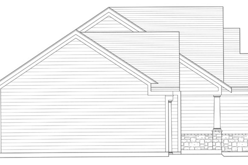 Craftsman Exterior - Other Elevation Plan #46-840 - Houseplans.com