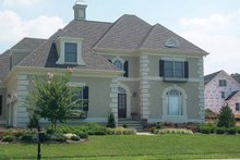 Home Plan - European Exterior - Front Elevation Plan #429-74