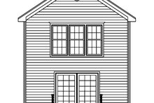 House Plan Design - Traditional Exterior - Rear Elevation Plan #1061-33