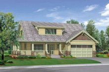 Dream House Plan - Craftsman Exterior - Front Elevation Plan #132-267