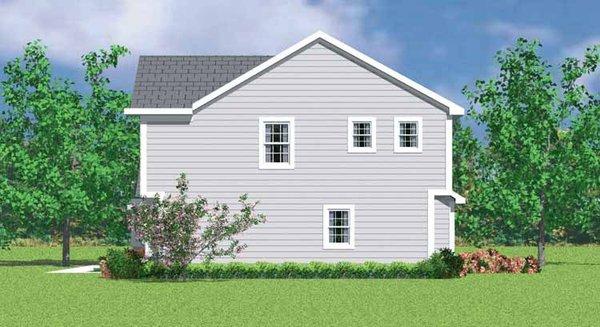 Colonial Floor Plan - Other Floor Plan Plan #72-1072