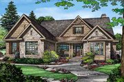 Craftsman Style House Plan - 3 Beds 2 Baths 2291 Sq/Ft Plan #929-972 Exterior - Front Elevation