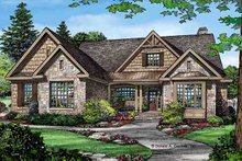 Home Plan - Craftsman Exterior - Front Elevation Plan #929-972