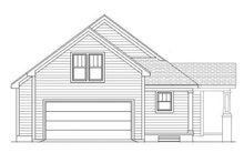 Craftsman Exterior - Rear Elevation Plan #991-29