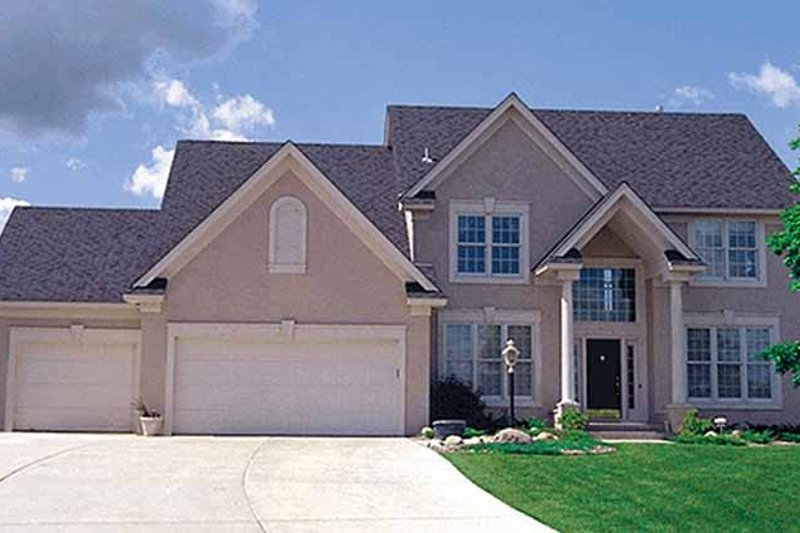 Traditional Exterior - Front Elevation Plan #51-912 - Houseplans.com