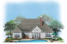 Craftsman Exterior - Rear Elevation Plan #929-732