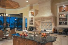 Mediterranean Interior - Kitchen Plan #930-107