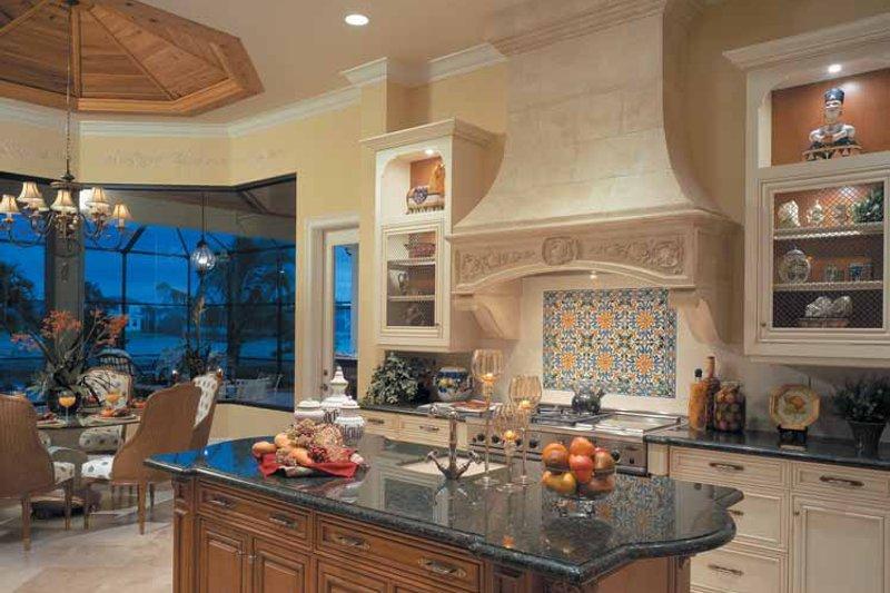 Mediterranean Interior - Kitchen Plan #930-107 - Houseplans.com
