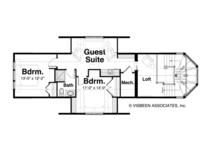 Craftsman Floor Plan - Upper Floor Plan Plan #928-259