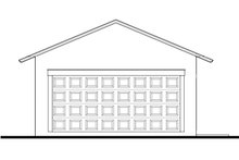 Southern Exterior - Other Elevation Plan #1058-75