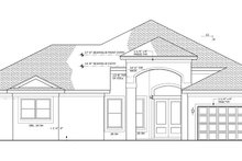Home Plan - Mediterranean Exterior - Front Elevation Plan #1058-43