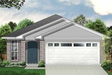 Dream House Plan - Ranch Exterior - Front Elevation Plan #84-659