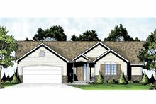 Architectural House Design - Traditional Exterior - Front Elevation Plan #58-231