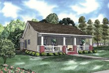 Country Exterior - Front Elevation Plan #17-2907
