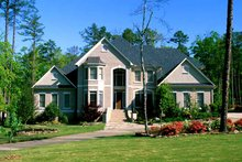 Traditional Exterior - Front Elevation Plan #17-3126