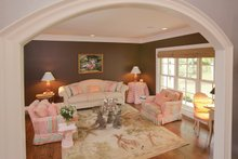 Architectural House Design - Country Interior - Family Room Plan #57-628
