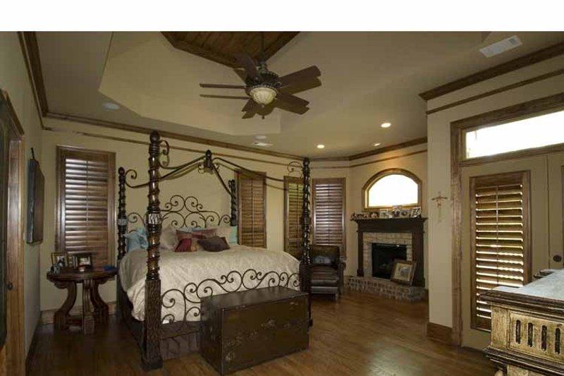 Country Interior - Master Bedroom Plan #54-367 - Houseplans.com