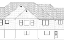 Ranch Exterior - Rear Elevation Plan #1060-26