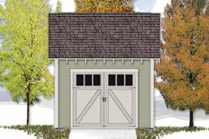 Craftsman Exterior - Front Elevation Plan #306-122