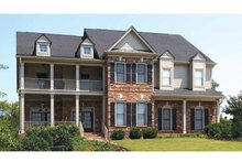Home Plan - Traditional Exterior - Front Elevation Plan #54-321