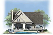 House Plan Design - Traditional Exterior - Rear Elevation Plan #929-740