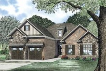 Ranch Exterior - Front Elevation Plan #17-3325