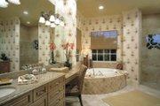 Mediterranean Style House Plan - 4 Beds 3.5 Baths 3433 Sq/Ft Plan #930-322 Interior - Master Bathroom