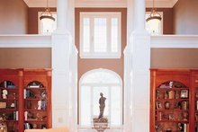 Classical Interior - Family Room Plan #45-413
