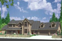 Country Exterior - Front Elevation Plan #303-472