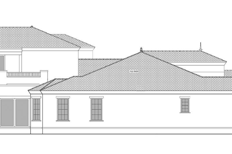 Mediterranean Exterior - Other Elevation Plan #1058-84 - Houseplans.com