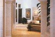 Mediterranean Style House Plan - 4 Beds 5.5 Baths 5464 Sq/Ft Plan #930-101 Interior - Entry