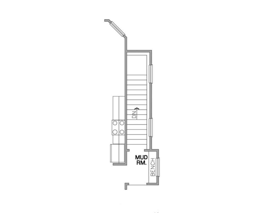 House Plans With Secret Rooms likewise 1965 Square Feet 3 Bedroom 2 Bathroom 2 Garage Country 44789 furthermore One Story Floor Plans With Basements in addition Dartmouth 542 furthermore Ashleigh Ii. on mud room exterior