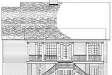 Colonial Exterior - Rear Elevation Plan #137-373