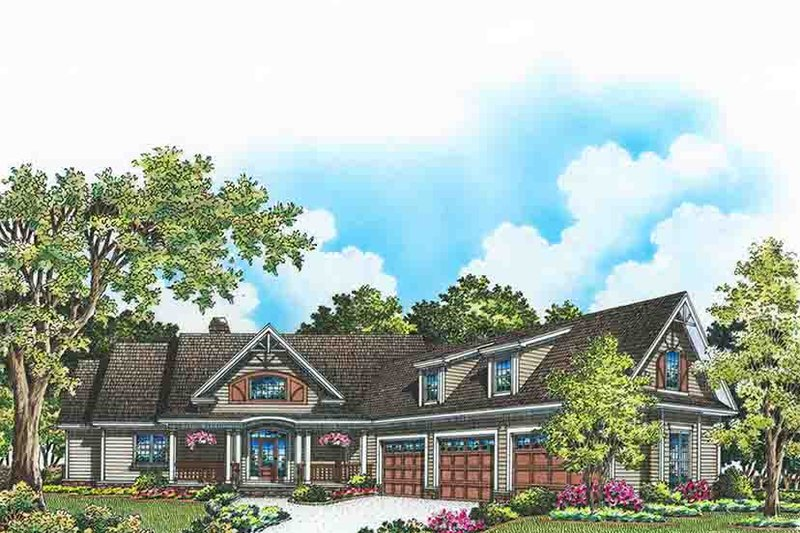 Craftsman Exterior - Front Elevation Plan #929-974 - Houseplans.com